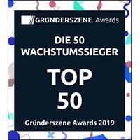 Logo Top 50 Gründerszene